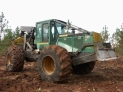 John Deere, skidder, skidding, logging, logs