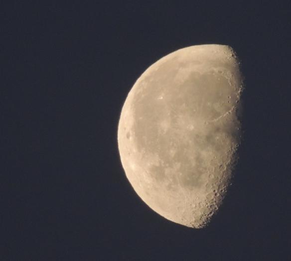 Moon, Luna, photography, waxing gibbous, waxing