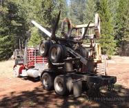log dolly, Front-end loader, loader, logging, logger, photographyy