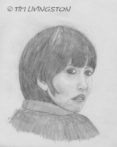 drawing, pencil, sketch, portrait