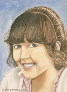 watercolor, watercolour, sketch, portrait