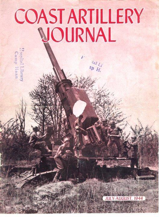 Anti aircraft artillary, WWII