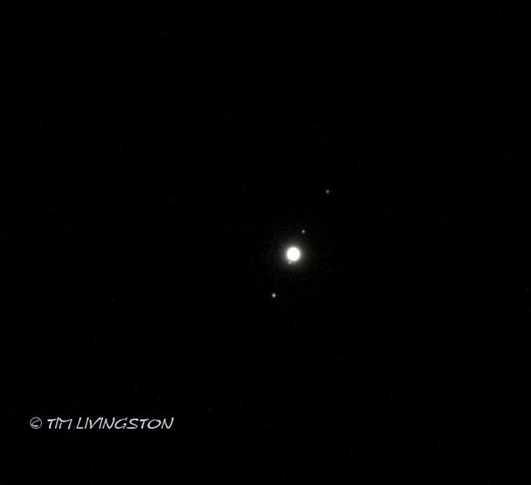 Jupiter, Europa, Io, Callisto, and Ganymede, photography, astronomy