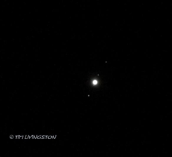 Jupiter, Europa, Io, Callisto, and Ganymede, photography, astronomy
