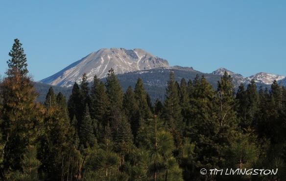 Lassen Peak, Mt Lassen, drought