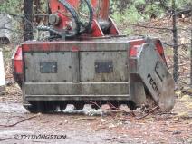 forestry, masticator, fuelbreak