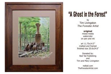A Ghost In The Forest, steam donkey, steam yarder, willamette steam donkey
