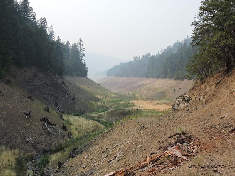 drought, wildfire, Trinity Lake