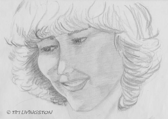 drawing, pencil, sketch, portrait