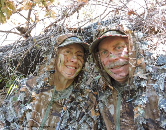 My hunting buddy and me.